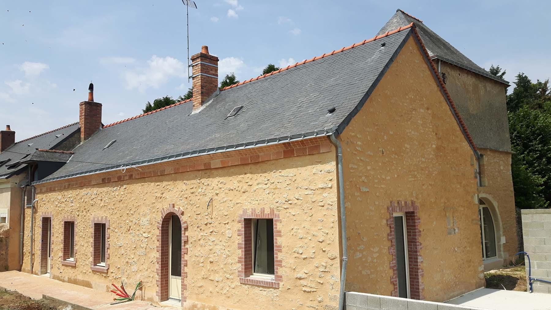 Rénovation d'une ancienne écurie en maison d'habitation